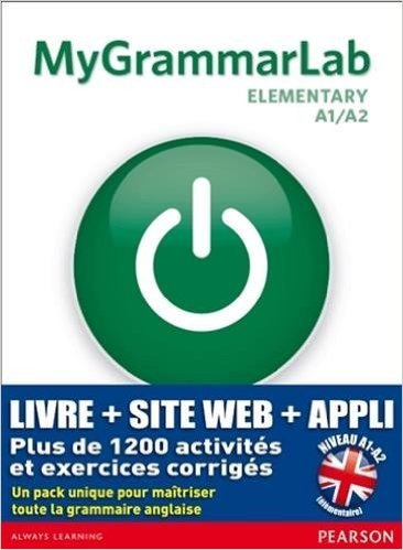 MyGrammarLab Elementary with Key and MyEnglishLab Pack