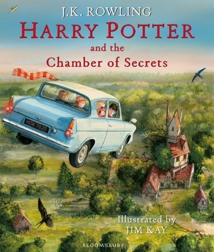 Harry Potter and the Chamber of Secrets - illustrated ed.