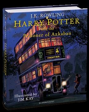 Harry Potter & the Prisoner of Azkaban - illustrated ed.