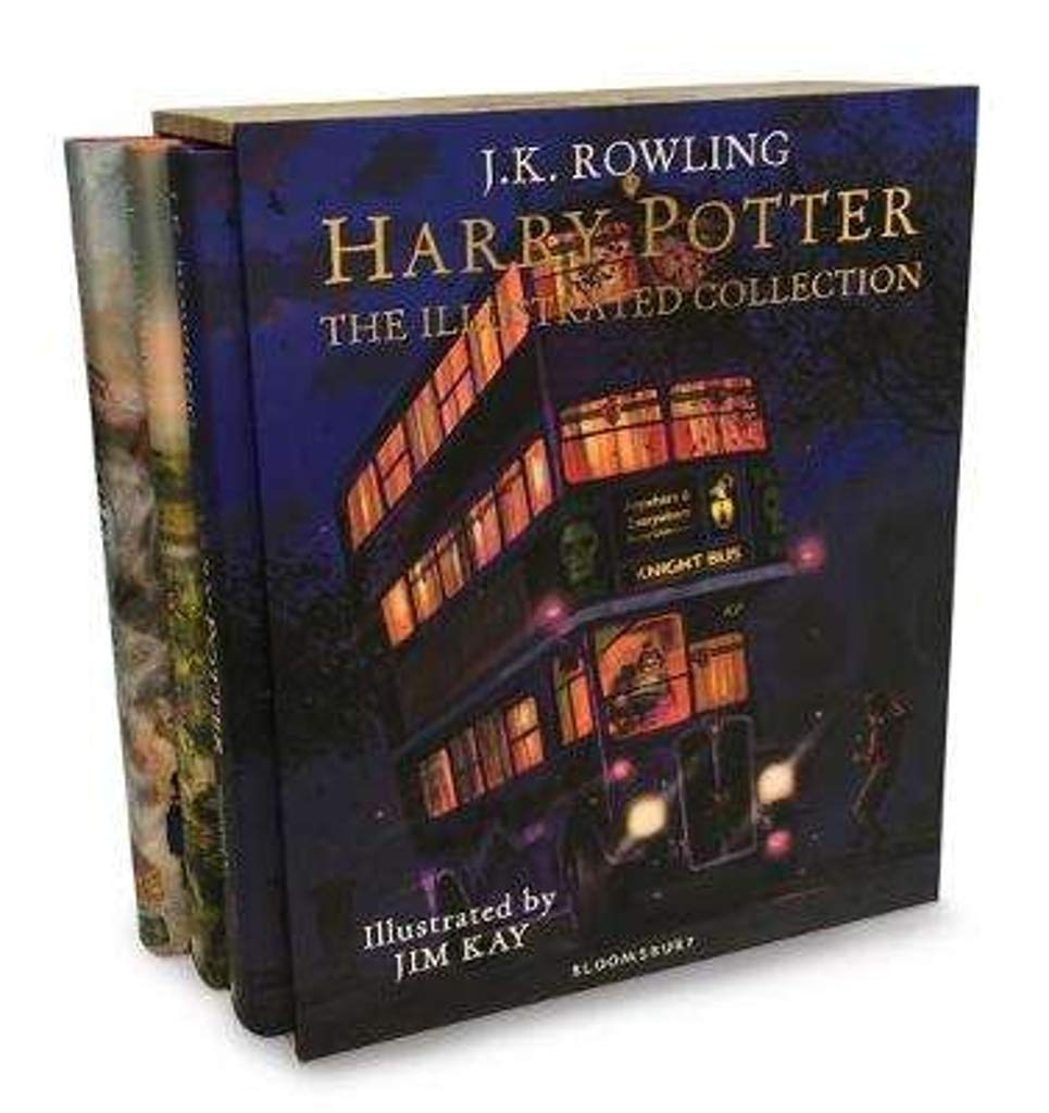 Harry Potter - The Illustrated Collection (3-book box set)