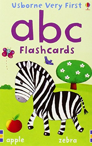 ABC - Baby's Very First Flashcards  (30 cards)