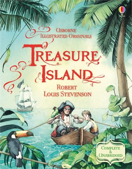 Treasure Island (illustrated, full text)