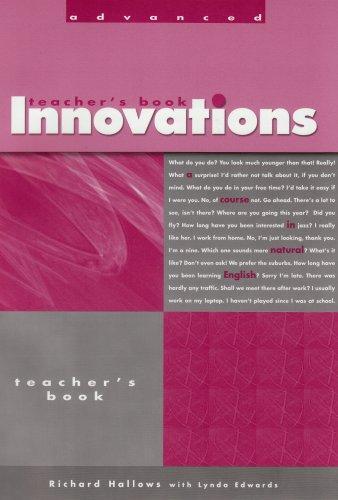 Innovations Advanced Teacher's Book
