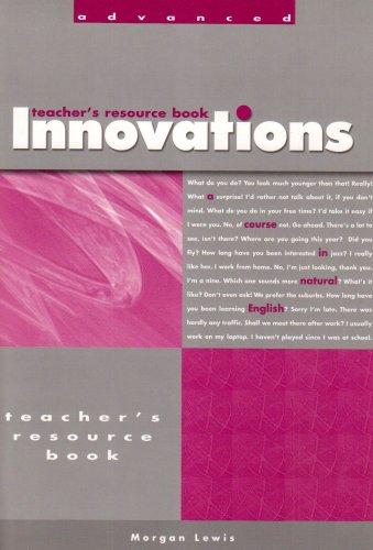 Innovations Advanced Teacher's Resource Book