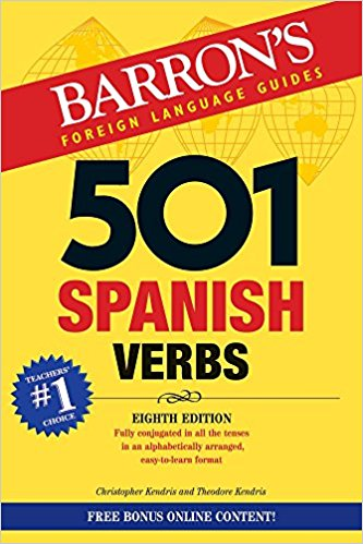 501 Spanish Verbs 8th edition +online
