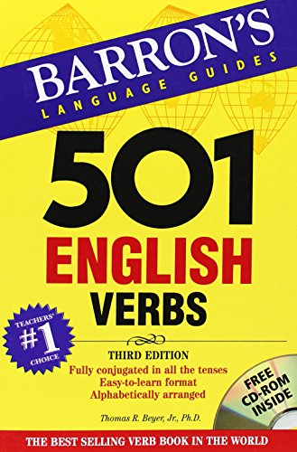 501 English Verbs with CD-ROM 3rd Edition