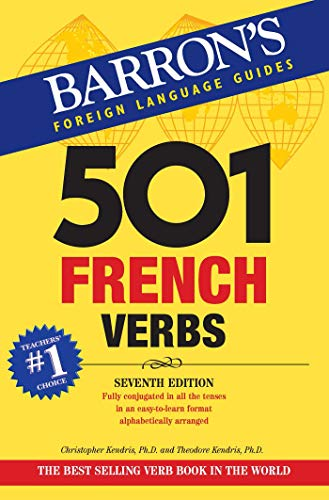 501 French Verbs with CD-ROM 7th Edition