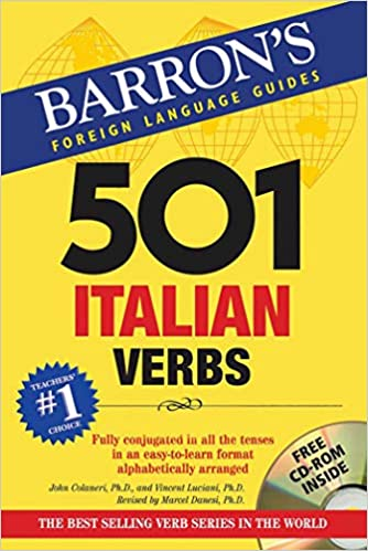 501 Italian Verbs with CD-ROM 4th Edition