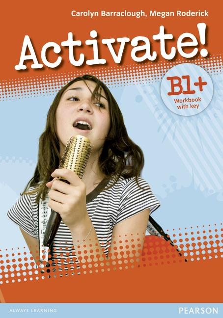 Activate! B1+ Workbook +key +CD-ROM