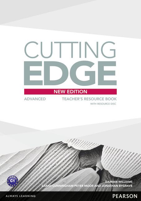 Cutting Edge 3rd Edition Advanced Teacher's Book +Resource Disc