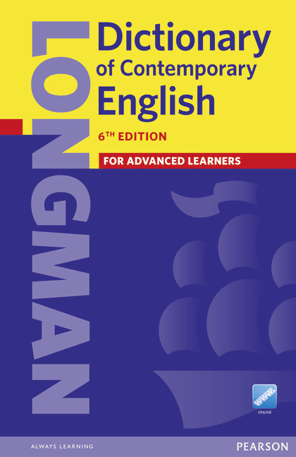 L Dict of Contemporary English 6th Ed PB+Online access