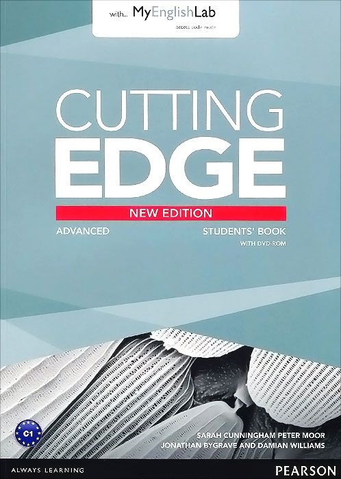 Cutting Edge 3rd Edition Advanced Student's Book+DVD+MyEnglishLab