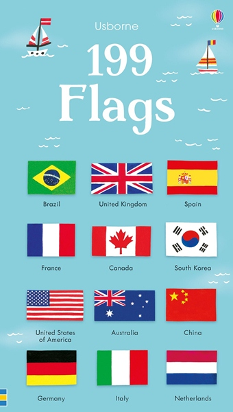 199 Flags  (board book) ***
