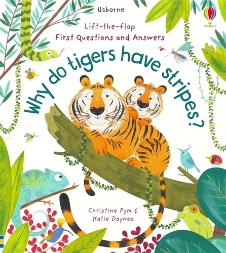 Questions and Answers: Why Do Tigers Have Stripes?