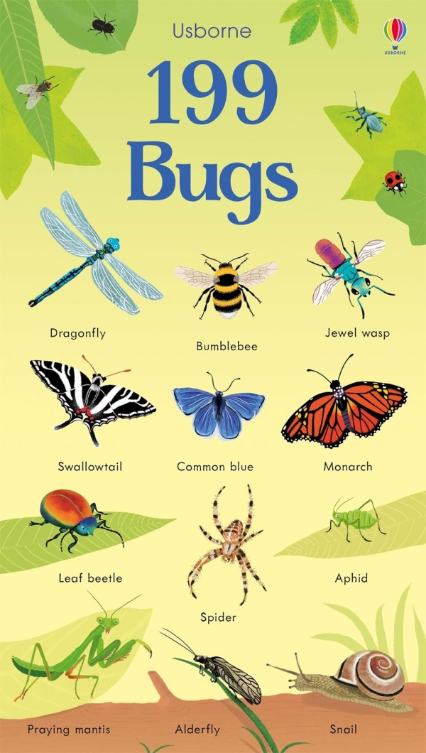 199 Bugs (199 Pictures)