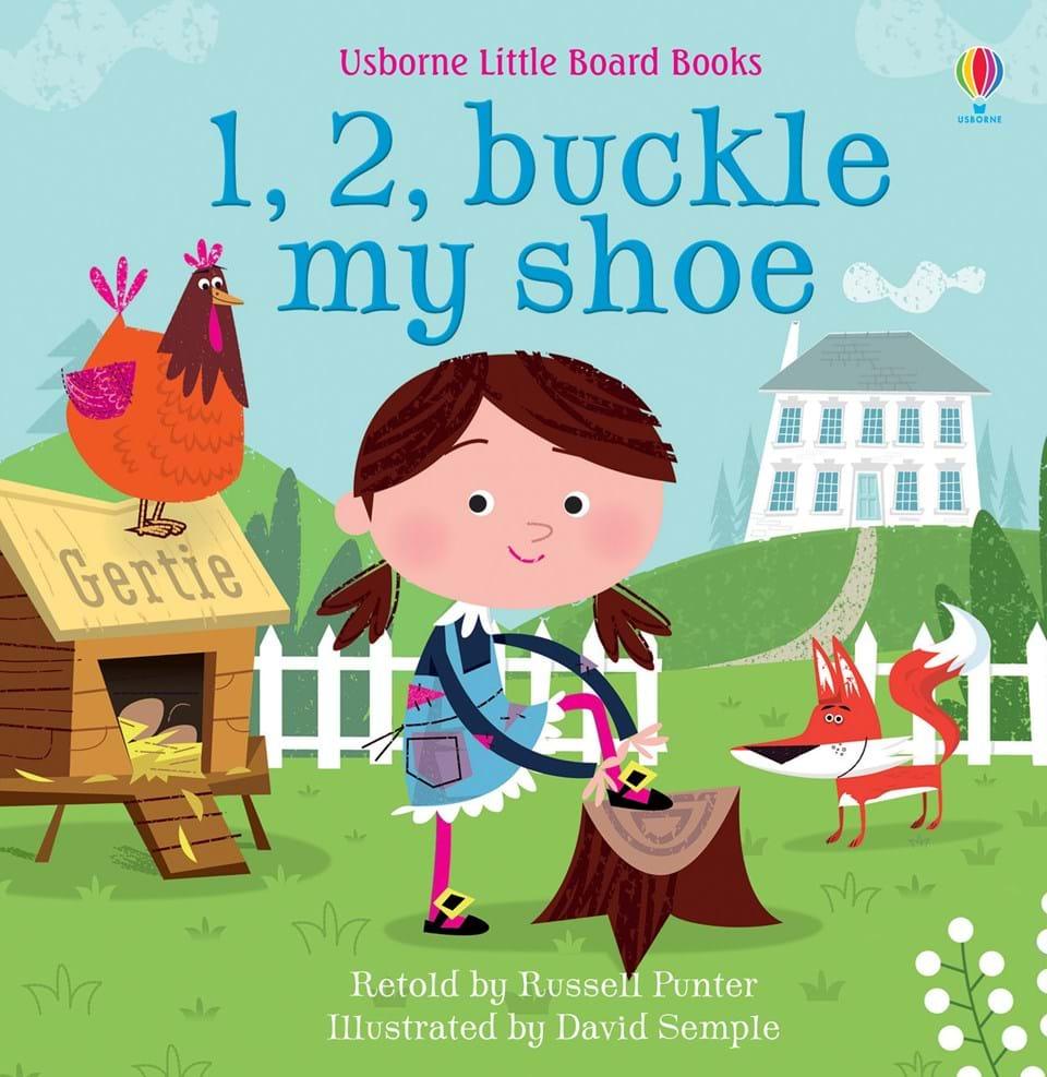 Little Board Books: 1, 2, Buckle My Shoe