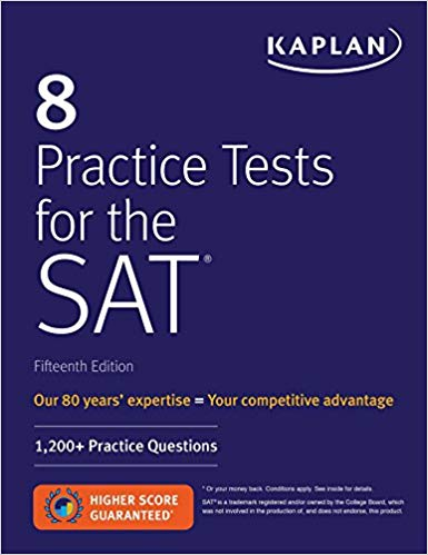 8 Practice Tests for the SAT 15th Ed.