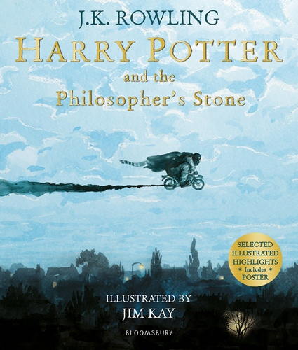 Harry Potter and the Philosopher's Stone - illustrated ed.