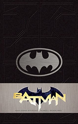 Batman Ruled Journal (leather bound)