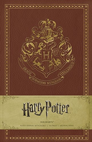 Harry Potter Hogwarts Ruled Journal
