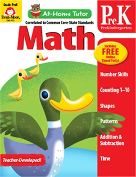 At-Home Tutor: Math, Grade PreK