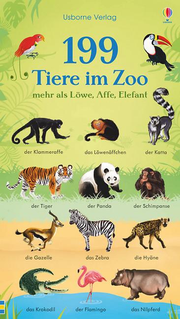 199 Tiere im Zoo