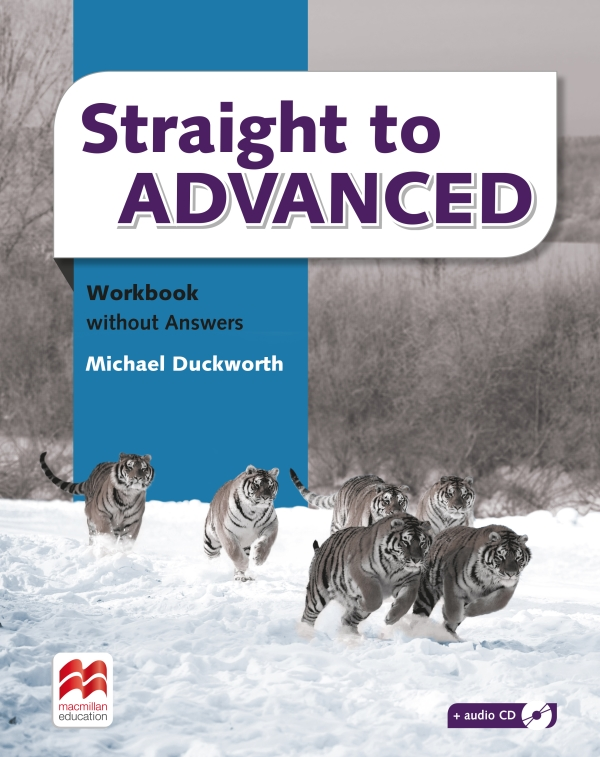 Straight to Advanced WB W/Out Key + Audio CD Pk