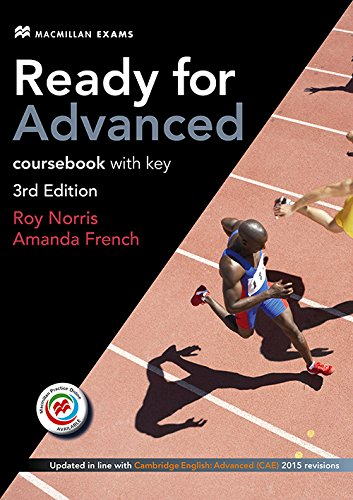 Ready for Advanced 3rd Edition Coursebook with Key, Macmillan Practice Online, Online Audio and Coursebook eBook Pack