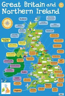 Britain and Ireland chart (laminated, 520x760mm)