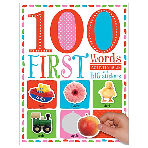 100 First Words - Sticker Activity Book