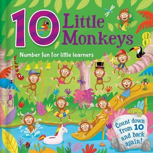 10 Little Monkeys - Counting Fun