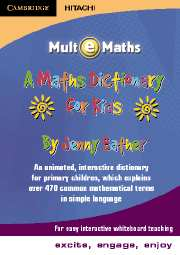 Maths Dictionary for Kids CDROM