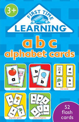 ABC Alphabet  (52 flash cards)