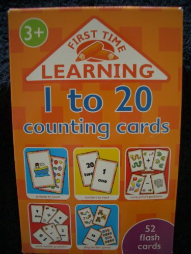 1-20 Counting  (52 flash cards)