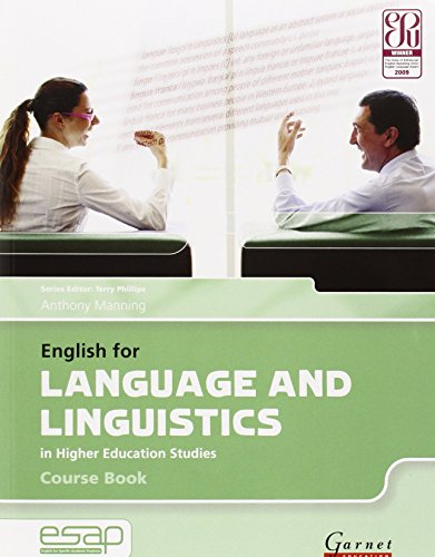 English for Language and Linguistics Course Book with CD-Audio