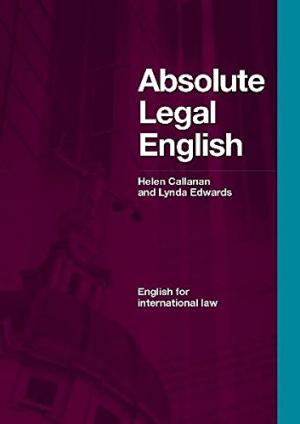 Absolute Legal English SB [with CDx1] !