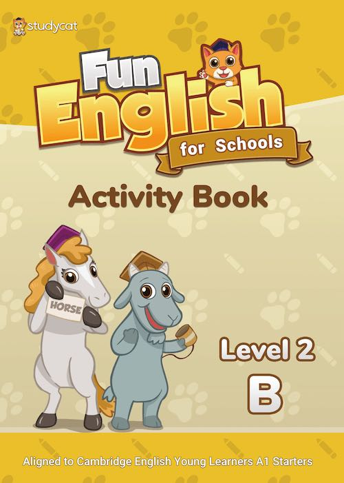 Fun English for Schools AB 2B