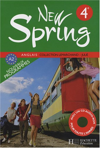 Anglais 4e New Spring (1CD audio)