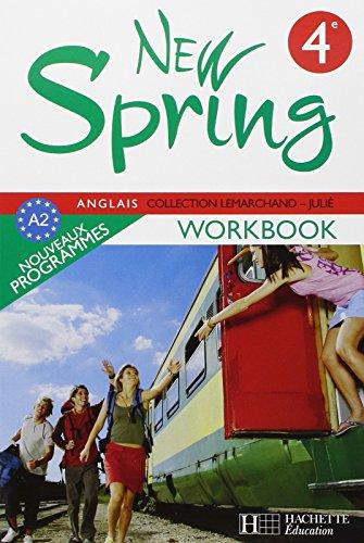 Anglais 4e New Spring cahier