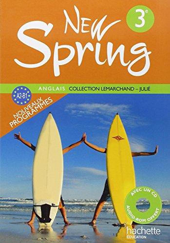 Anglais 3e New Spring (1CD audio)