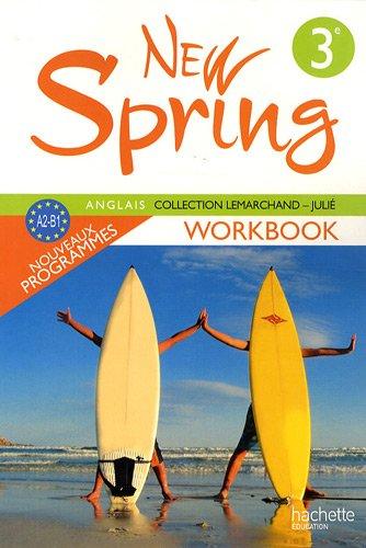 Anglais 3e New Spring cahier