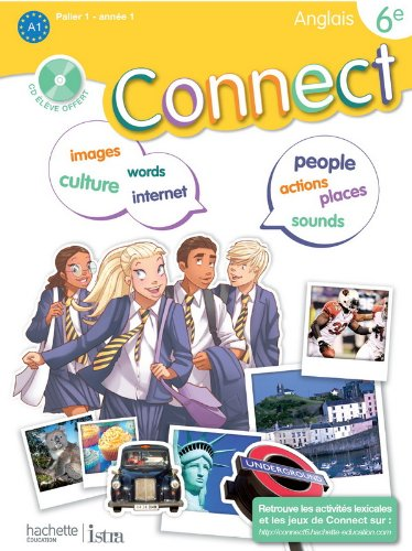 Anglais 6e Connect (1CD audio)