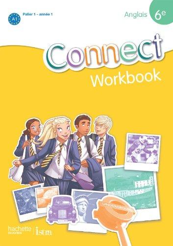 Anglais 6e Connect cahier