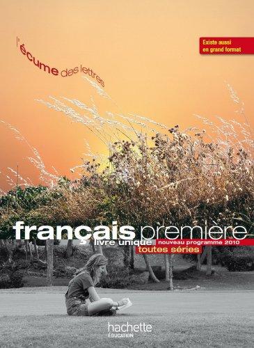 Francais 1e - L'Ecume des lettres