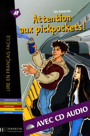Attention aux pickpockets ! + CD audio, B1