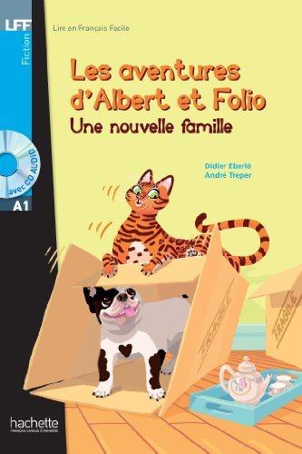 Albert et Folio : Une nouvelle famille + CD audio MP3, A1