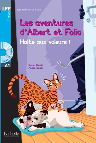 Albert et Folio : Halte aux voleurs + CD audio MP3, A1