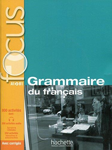 Grammaire du francais + CD audio + Parcours digital