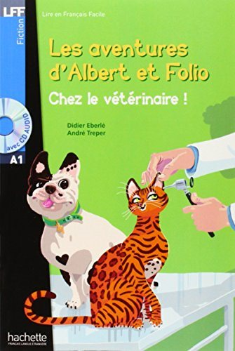 Albert et Folio : Chez le veterinaire + CD audio MP3, A1