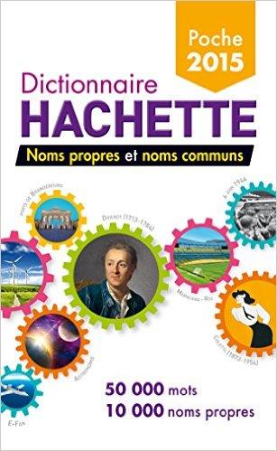 Dictionnaire Hachette poche